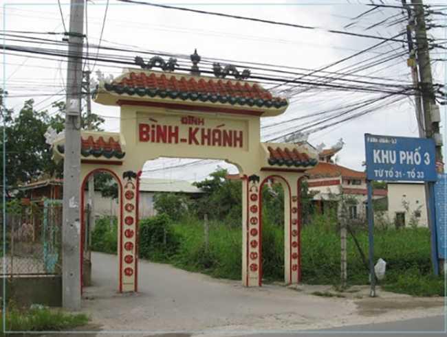 Đất xã Bình Khánh Cần Giờ